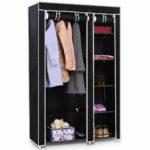 Costway-69_-Portable-Closet-Storage-Organizer-Clothes-Wardrobe-Shoe-Rack-W-6-Shelf-Black
